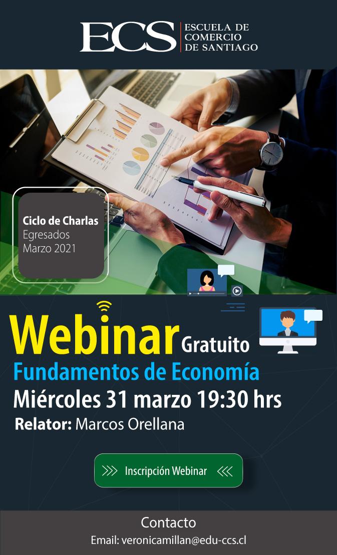 Carreras Profesionales - Webinar Fundamentos de Economía